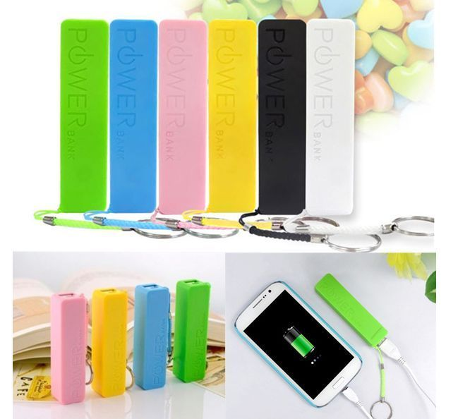 Portable USB External 2600mAh Battery Charger Power Bank  For iPhone Smartphone