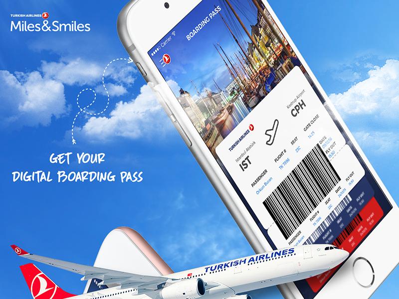 Turkish Airlines Flight Boarding Pass Turkish Airlines Airline Flights Airlines