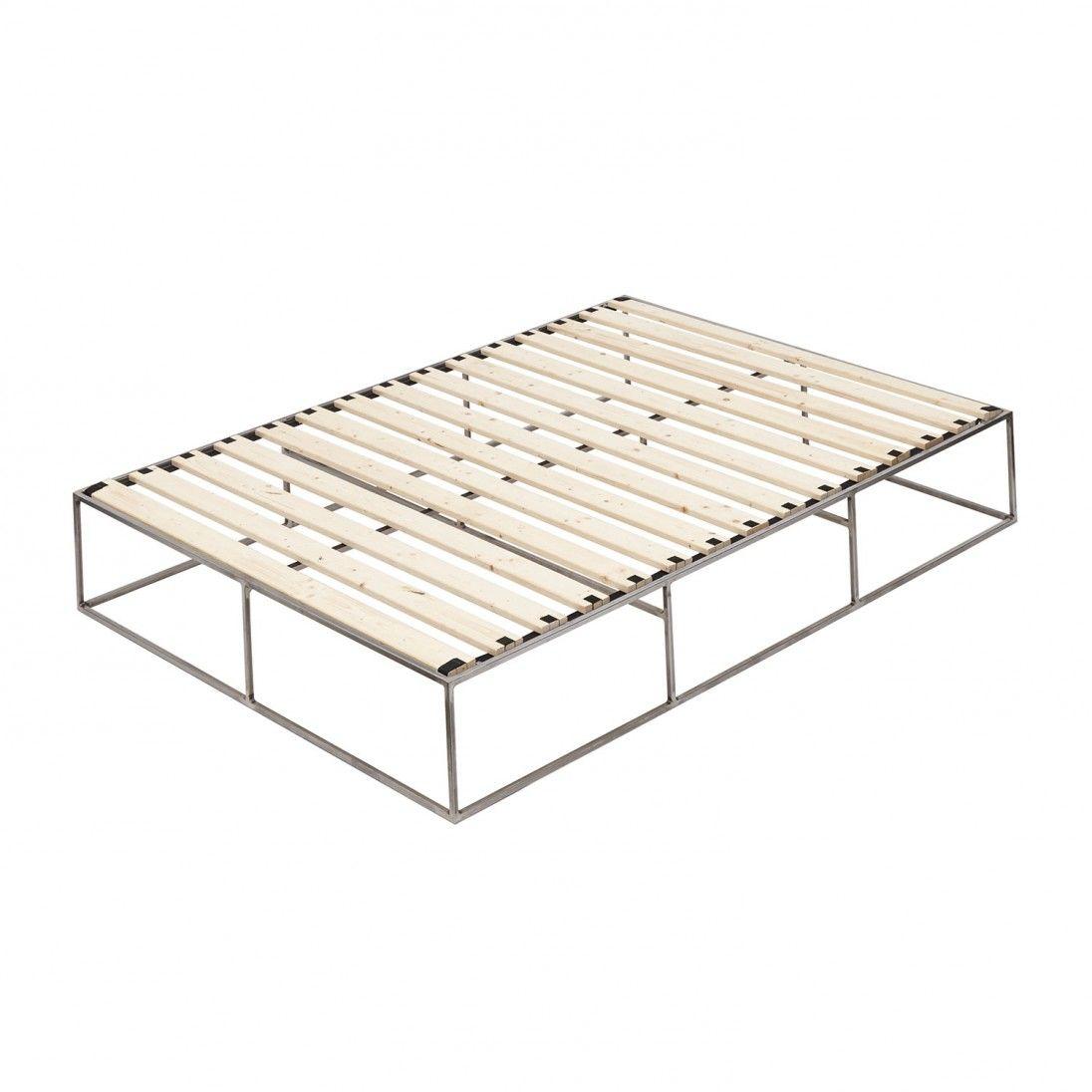Metallbett - Stahlbett - metal bed - minimalistisch - minimalist ...
