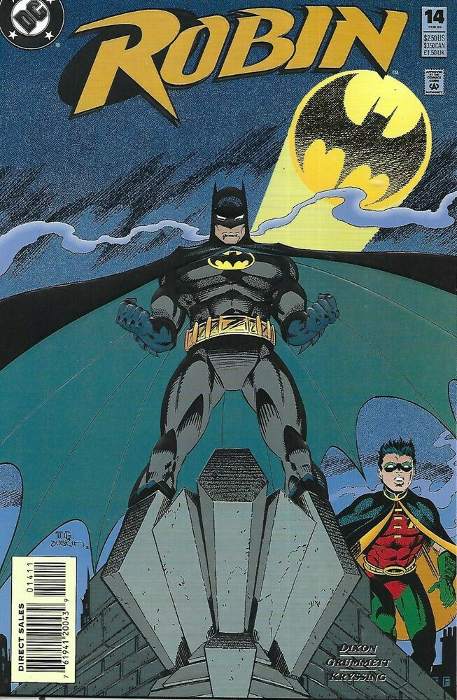 Robin 1993 series # 1 Deluxe variant very fine comic book