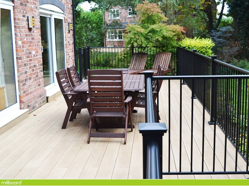 Millboard decking contains no timber nor any plastic it s