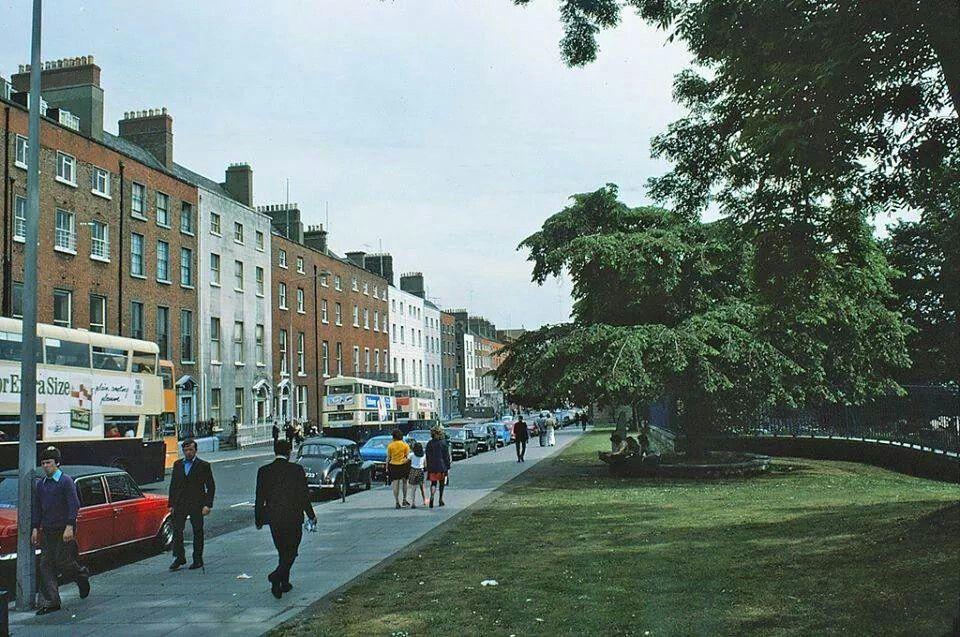 Parnell Square, Dublin 1970's.