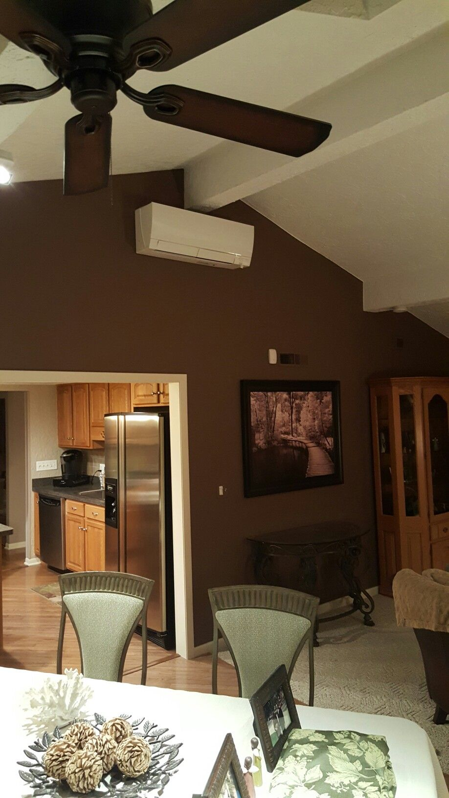 Mitsubishi Msz Fh18na2 Indoor Portion Of A Hyper Heating Low Ambient Heat Pump System This Affordable Interiors Heating And Air Conditioning Heat Pump System