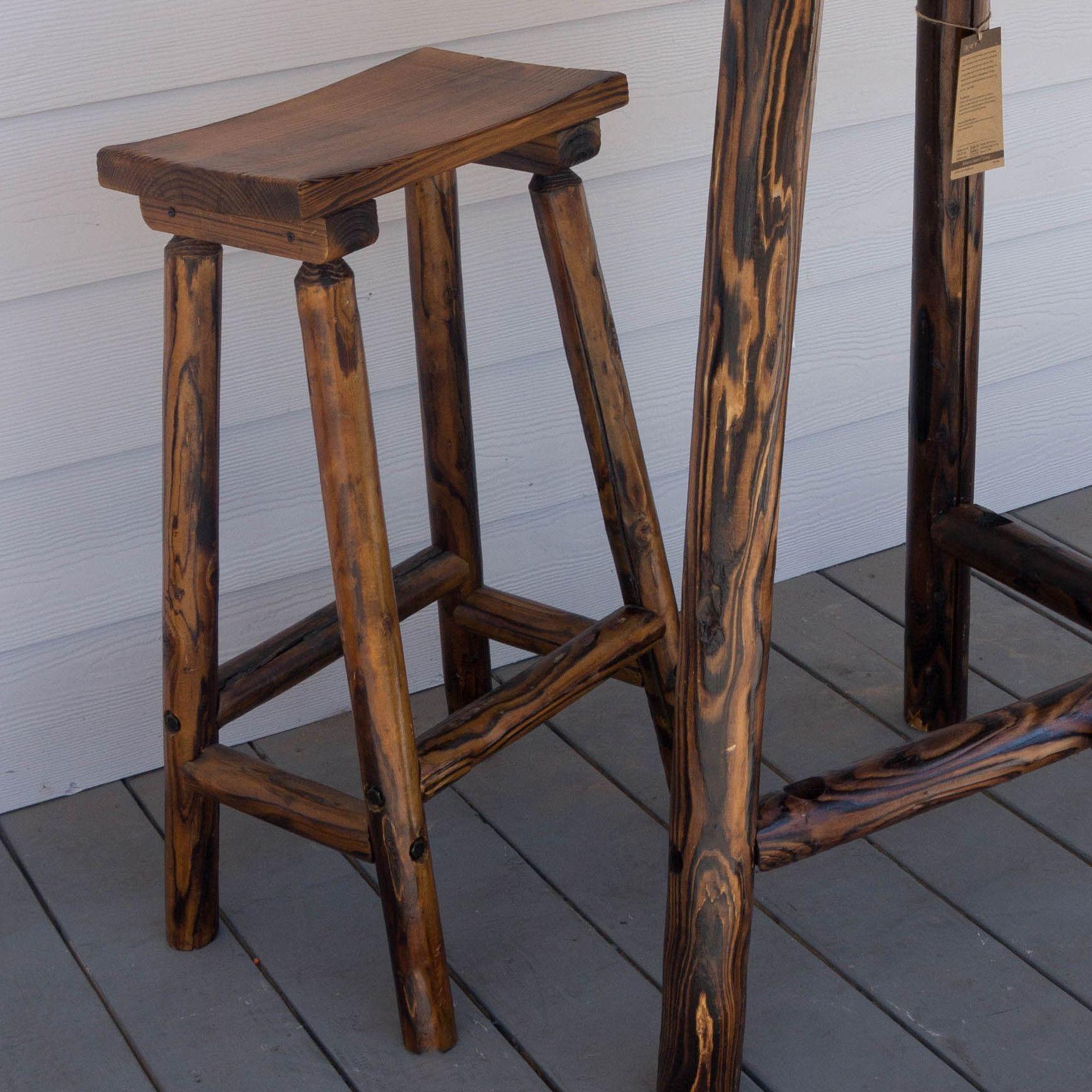 "Char Log 28"" Bar Stool Products Pinterest"