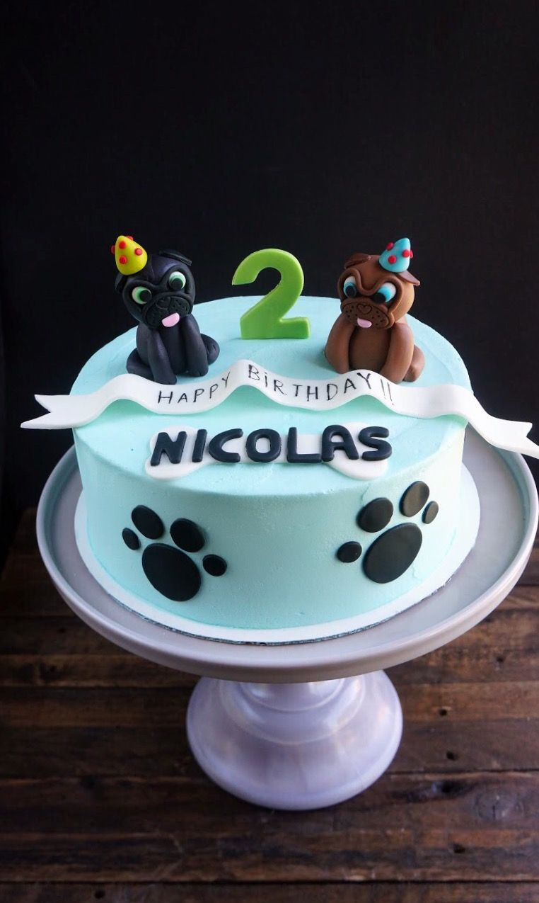 Puppy dog pals cake windycitydinnerfairy Puppy birthday