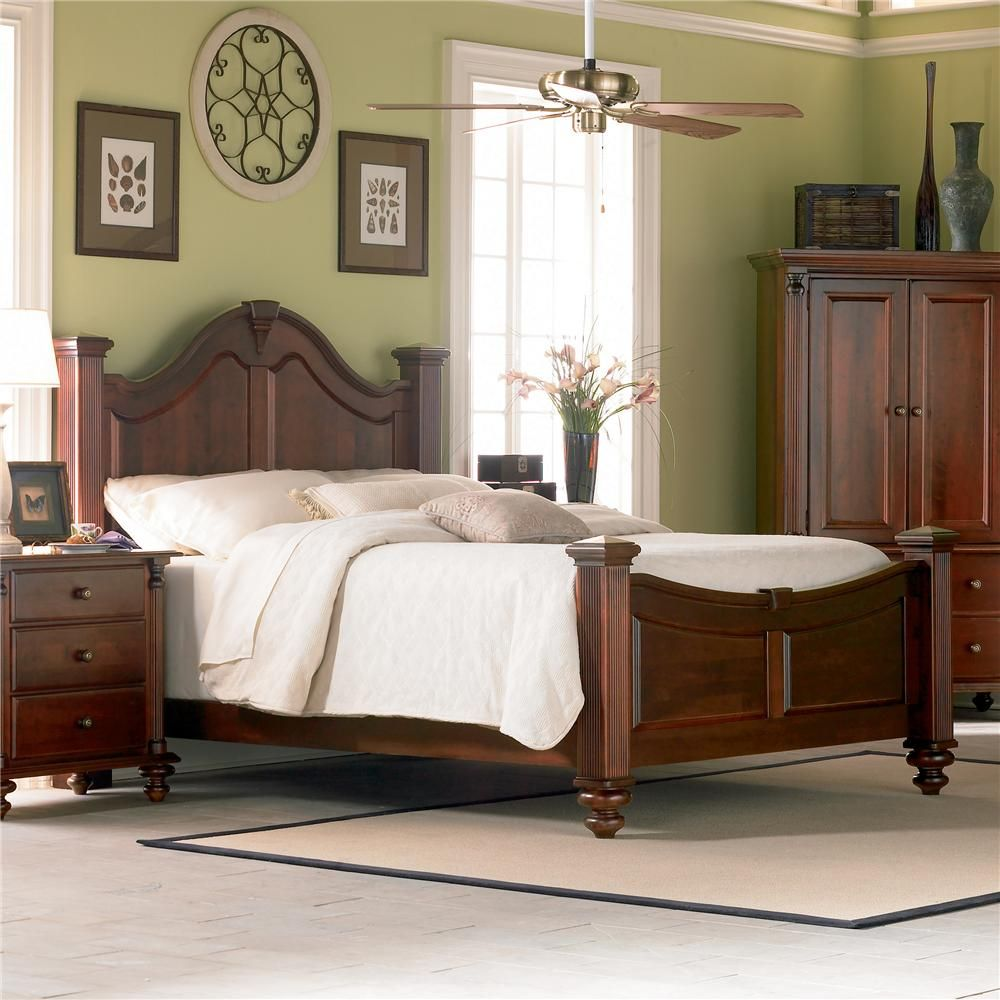 Mobel Furniture: Passages Transitional Wellington Bedroom