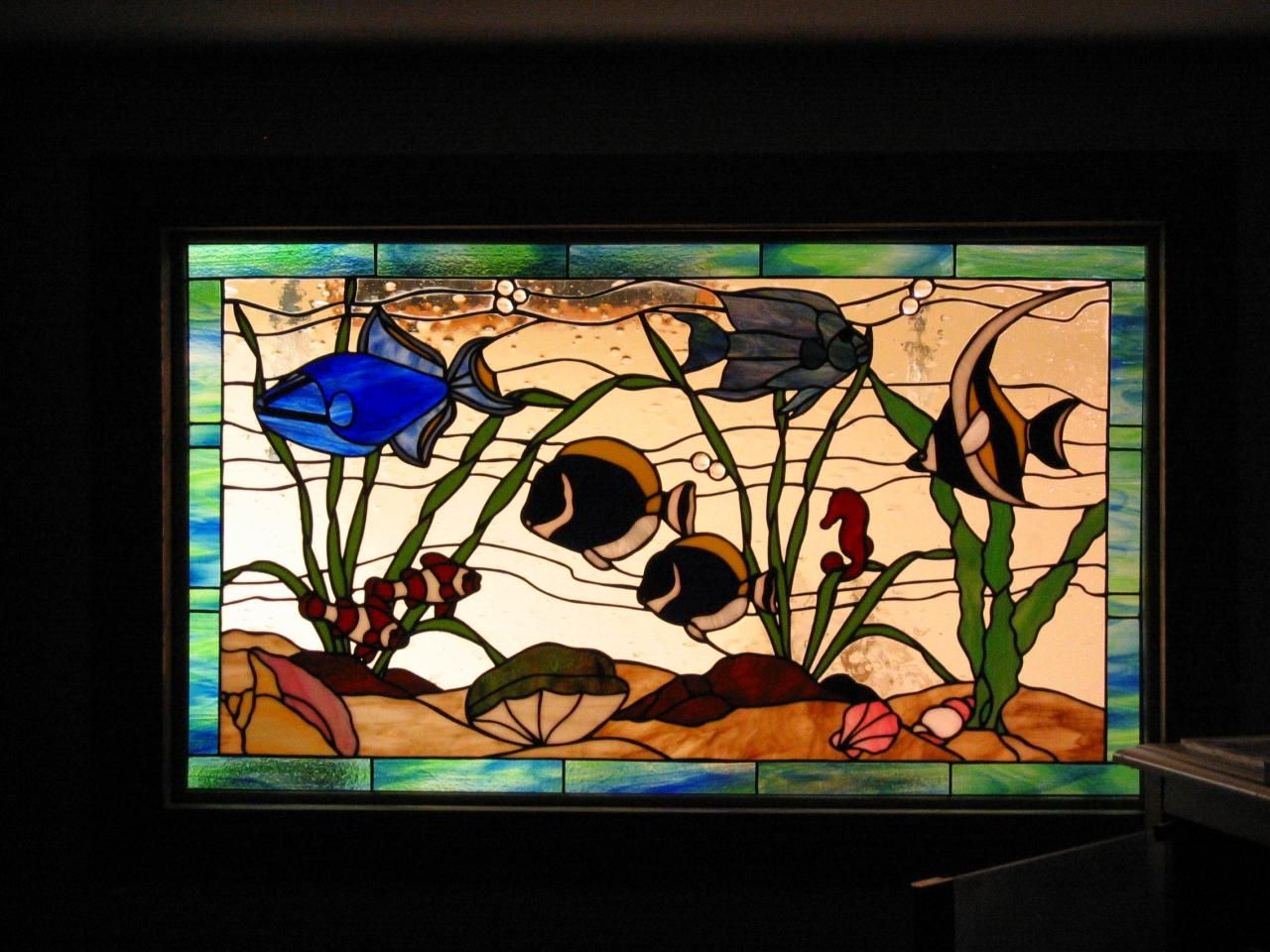 Aquarium Stained Glass Pattern Google Search Glass