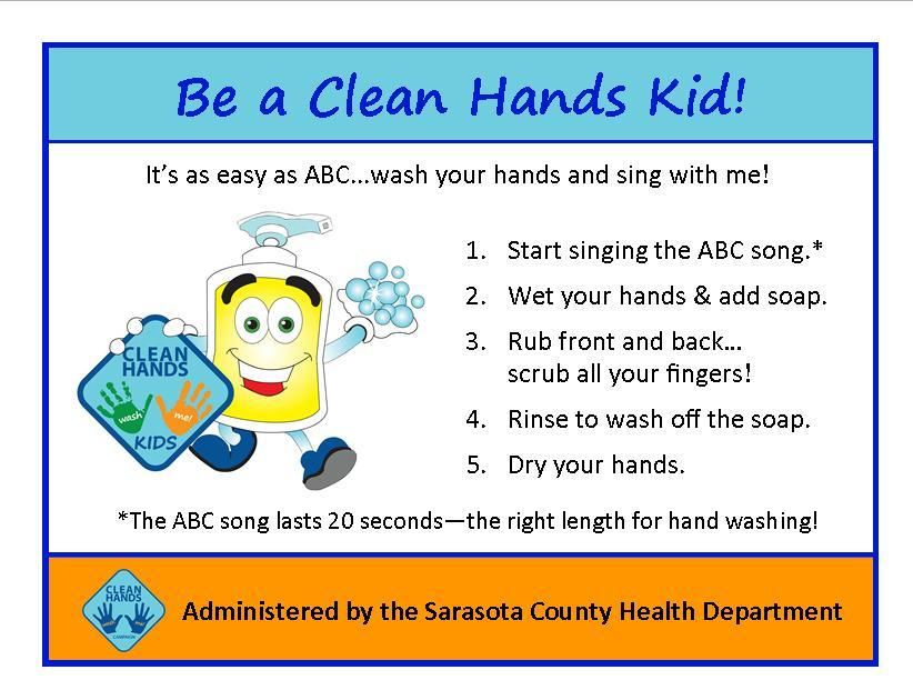 Pin On Clean Hands Kids Campaign