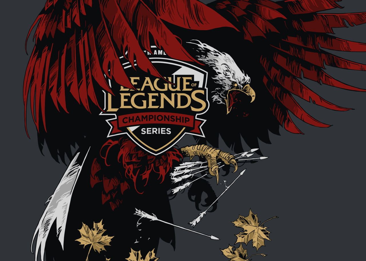 League Of Legends Msi 2018 Na Lcs North America Lcs Crest For