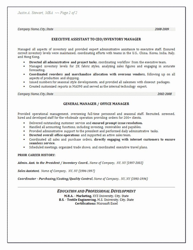 Stock Job Description Resume Luxury Inventory Resume