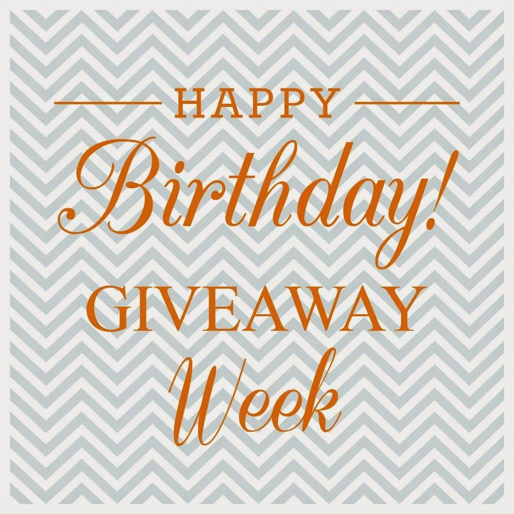 Cothron & Co. : Martha's Birthday Week Giveaway