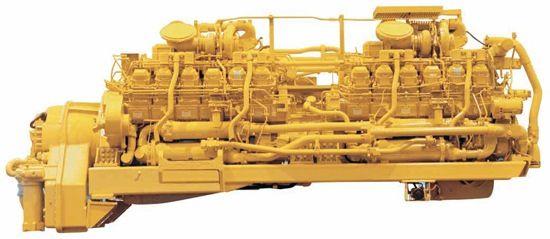 Got torque?2 Caterpillar 3512 V-12s combined into a 6500