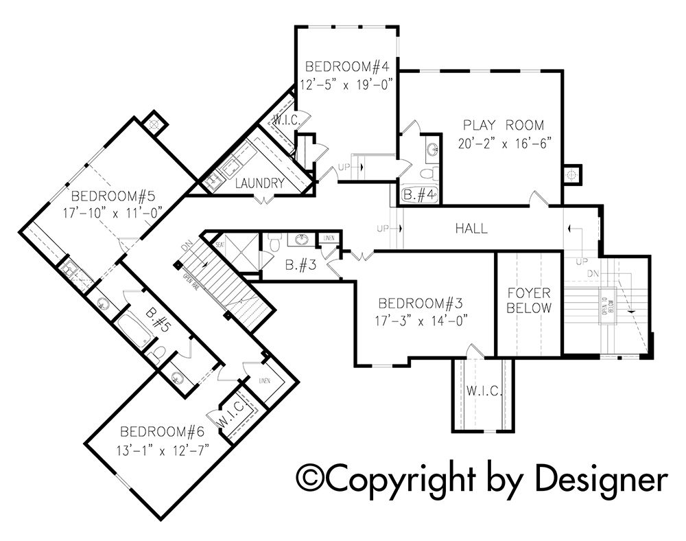 House Plan 699 00075 Mountain Plan 5 130 Square Feet 6 8 Bedrooms 5 5 Bathrooms Cottage Floor Plans Mountain House Plans Floor Plans