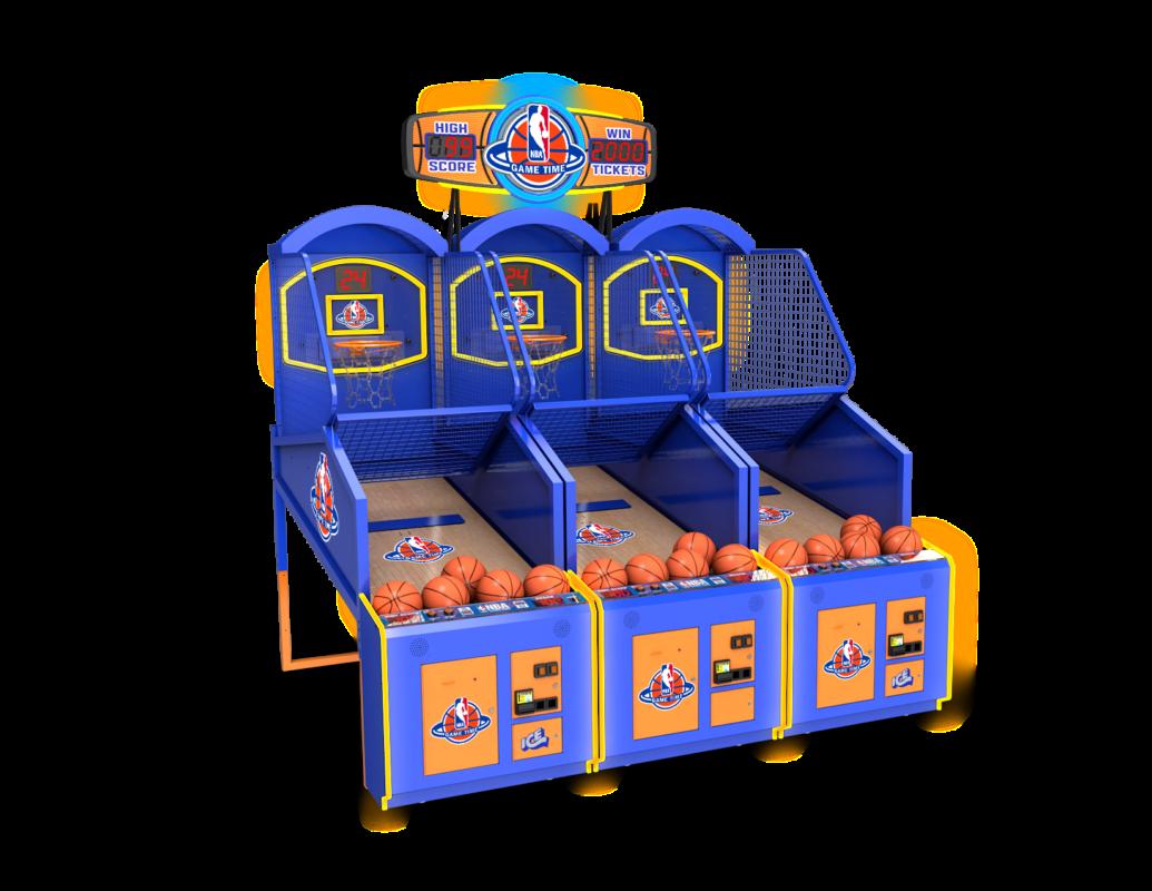 NBA Game Time Basketball Arcade in 2020 Arcade games
