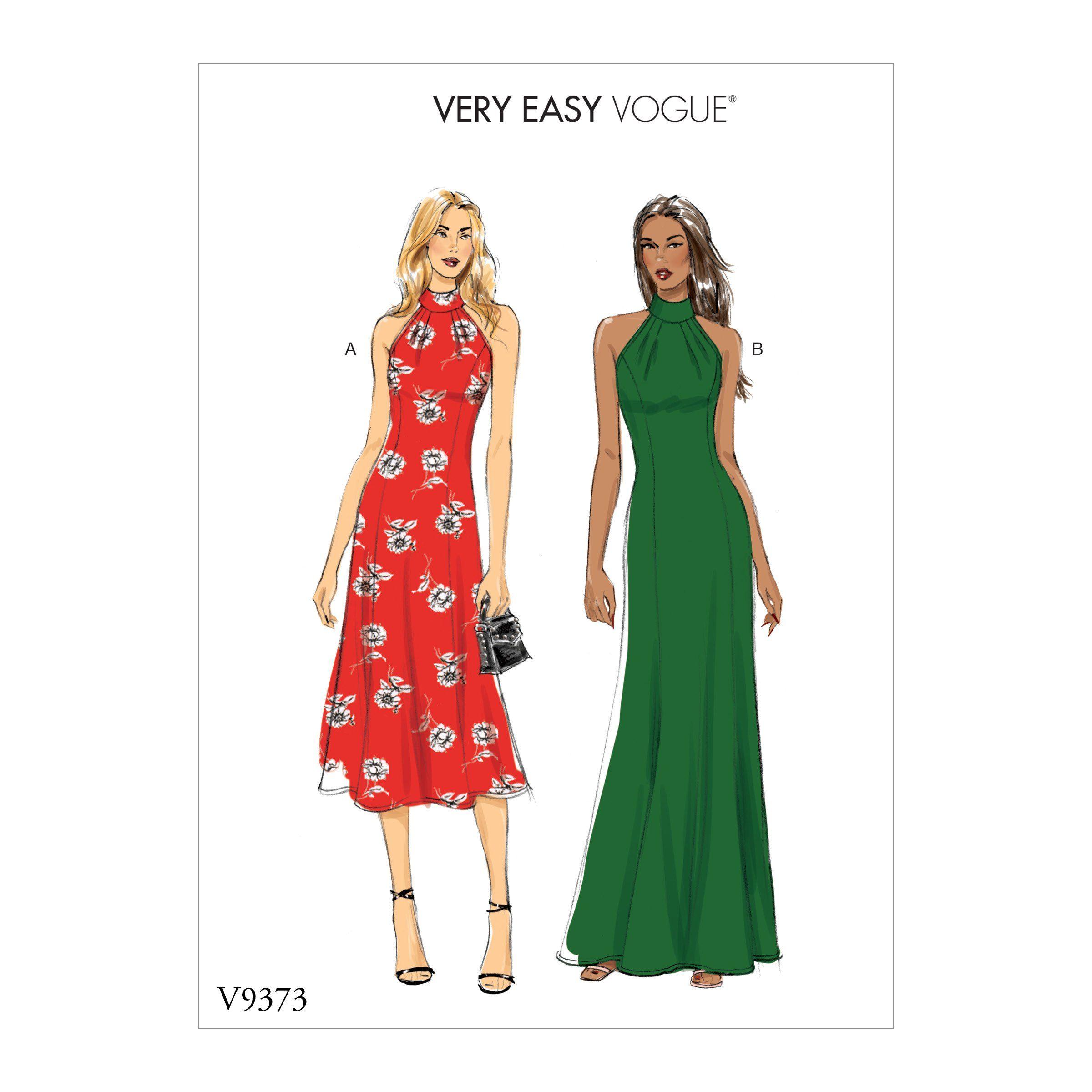 Vogue Patterns 9373 Misses Special Occasion Dress Vogue Sewing Patterns Vogue Patterns Sewing Dresses [ 2400 x 2400 Pixel ]