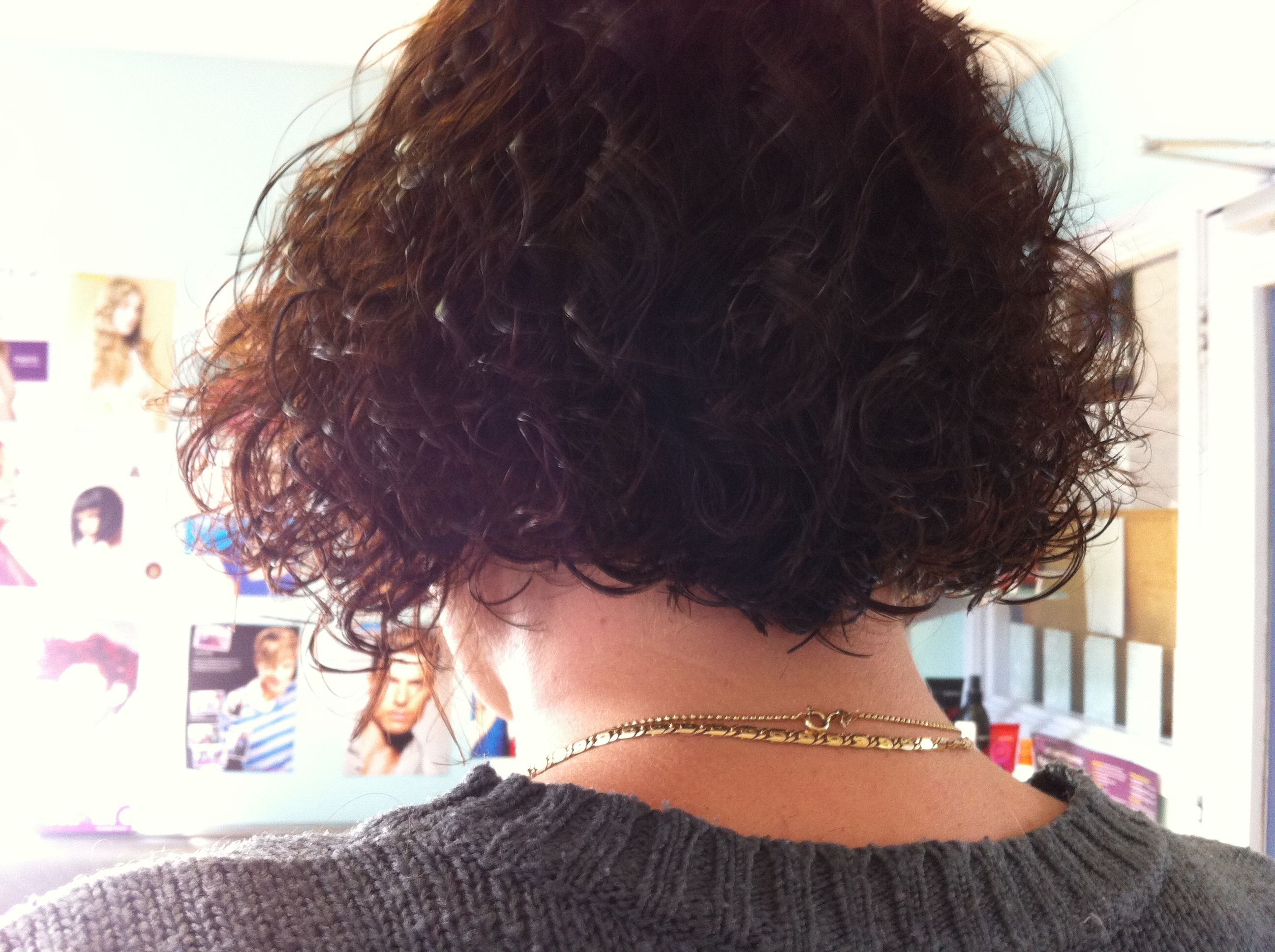 Natural curls cut in a bob nice hairstyle pinterest natural