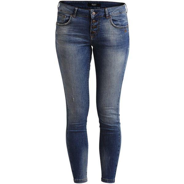 c7cea6af5d97 Blue Denim · Light Blue · Pastel Blue · Object Collectors Item 7 8 Slim Fit  Jeans ( 68) ❤ liked on Polyvore
