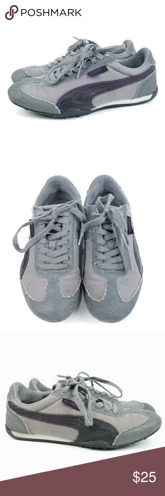 5709a9adb6ca Puma Easy Rider Retro Sneakers 7 EG05 Puma Easy Rider Retro Vintage  Sneakers Womens Size 7 Gray Ftwmc fvnmc Very Good Used Condition