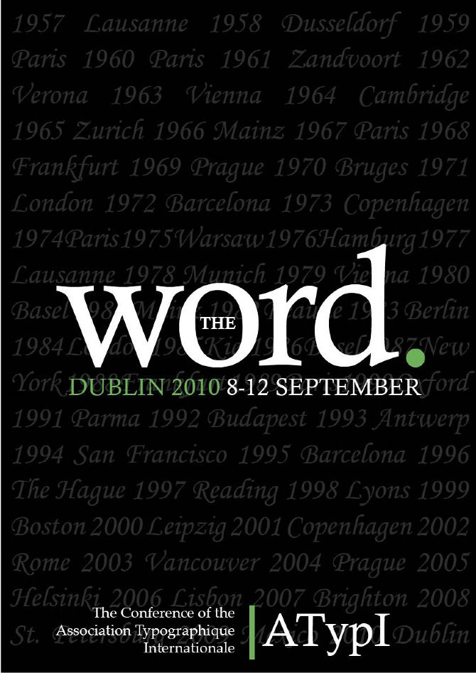 the word poster tristan o connor vs1a poster design pinterest