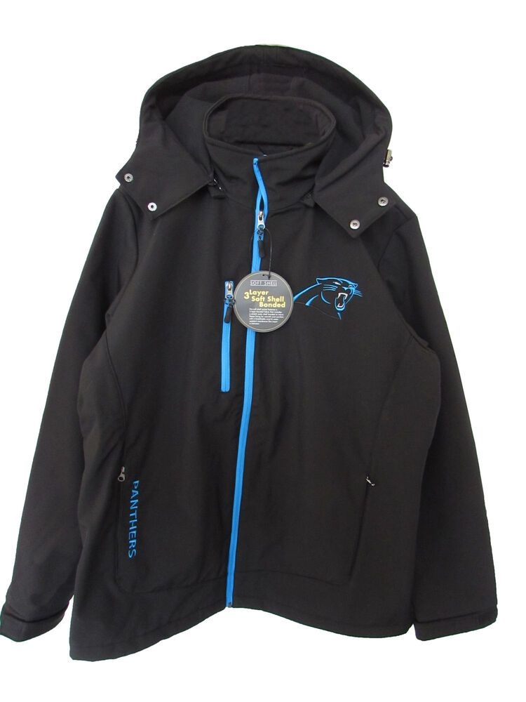 big sale 6a3a1 abe38 eBay Sponsored) NFL Apparel Mens Carolina Panthers Full-Zip ...