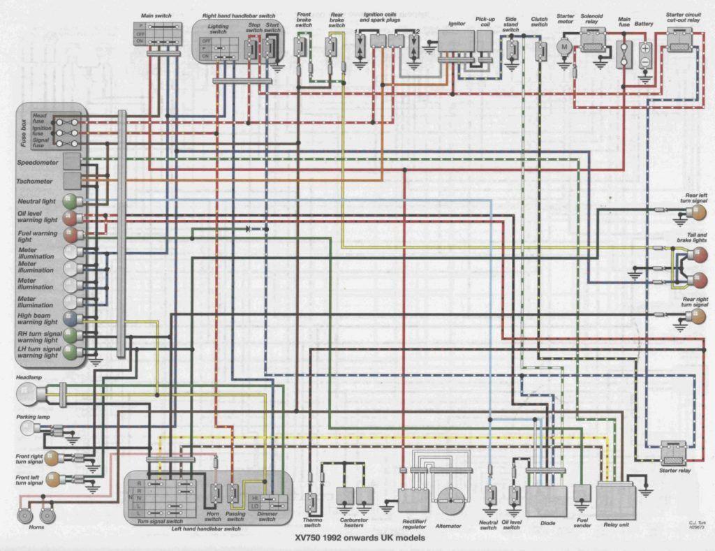 81 Virago 750 Wiring Diagram Free Download Diagrams InsidePinterest