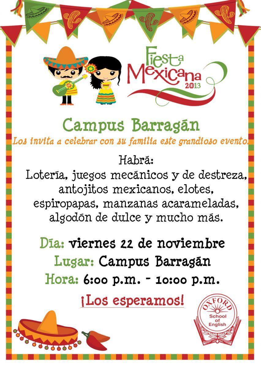 Fiesta mexicana invitacion google search fiesta - Ideas para hacer tarjetas de cumpleanos ...