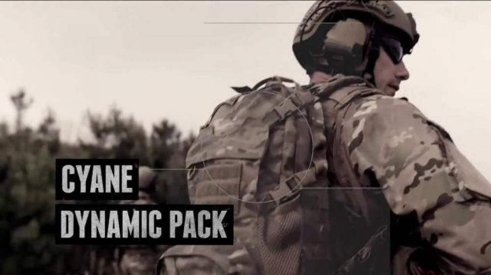 Police and military demand a lot from their gear when in combat, and these guys never surrender. When you're in the field wearing camouflage, the Cyane Dynamic Pack is ready to work.