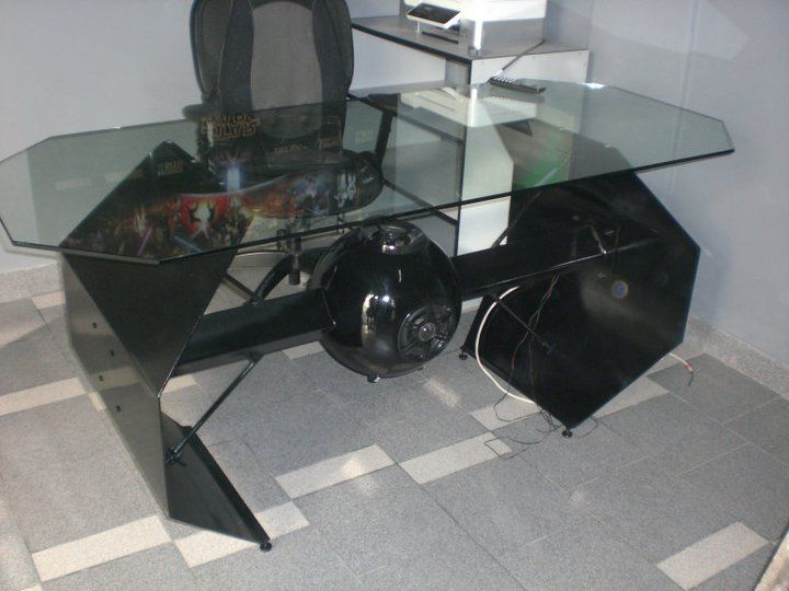 Looking For Tie Fighter Pics To Make A Coffee Table And Came Across This!