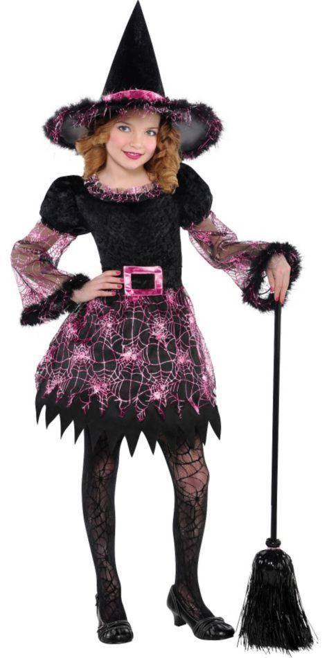 Darling Witch Costume Black/Purple 8-10 Dress for child Cartoon Character #CostumeUSA #Dress  sc 1 st  Pinterest & Darling Witch Costume Black/Purple 8-10 Dress for child Cartoon ...