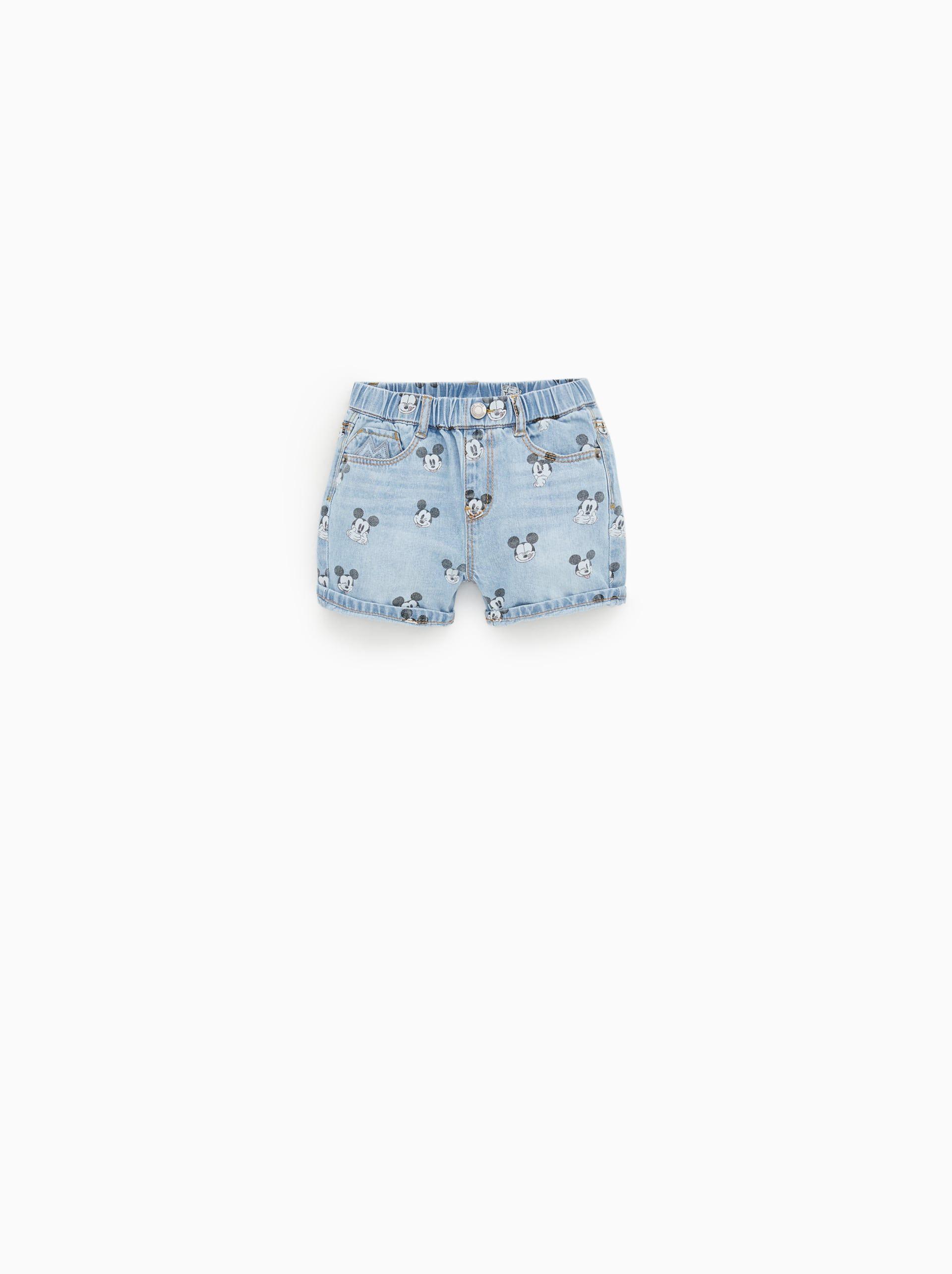 ©mickey mouse denim shorts | Mickey shorts, Denim shorts