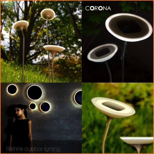 corona solarleuchten garten design blumen -- solar garden lighting, Garten und erstellen