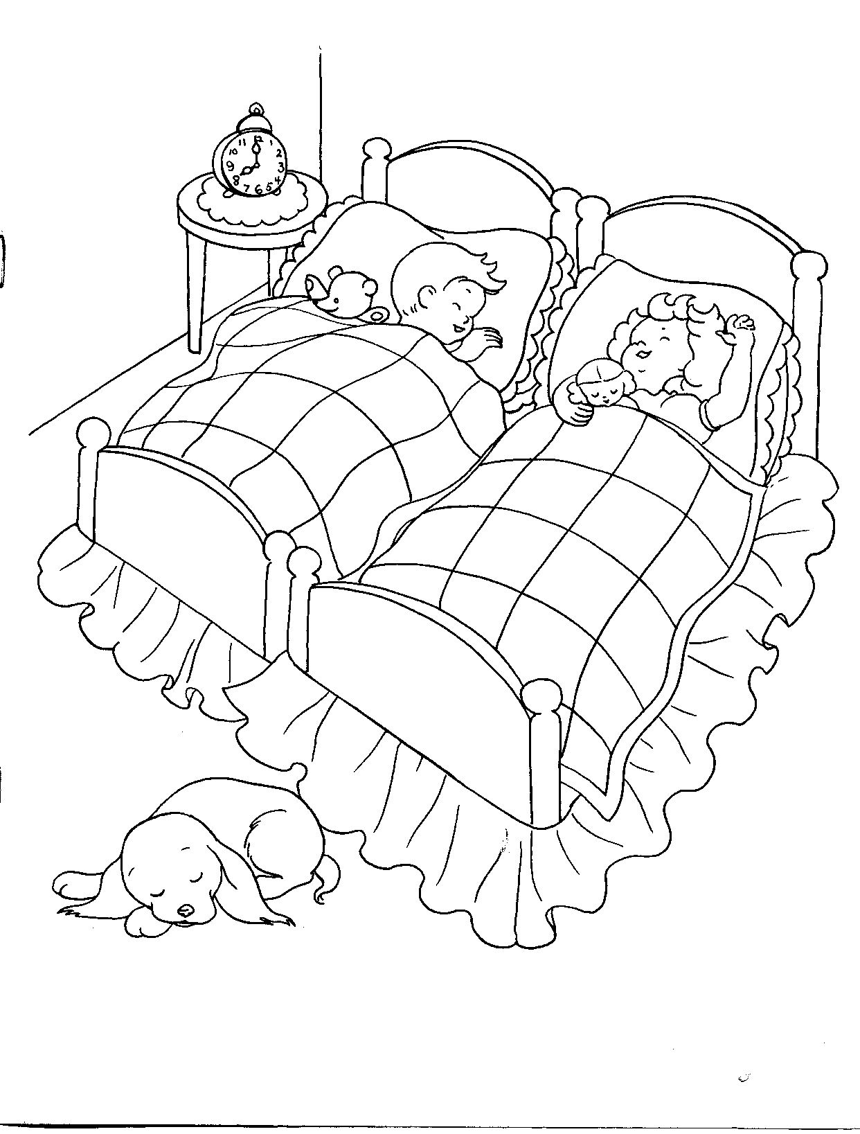 1952 Mother Goose Cut-Out Coloring Book | Colouring Pages GiRLs ...