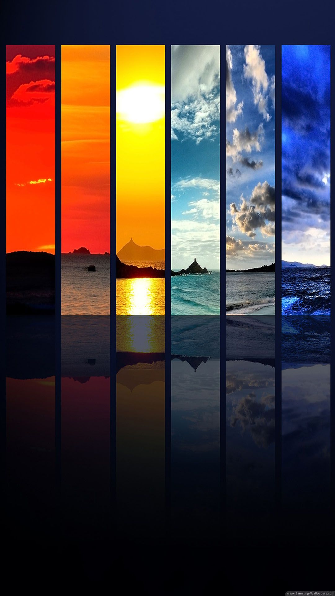 Seasons Places Collage Lockscreen Iphone 6 Plus Hd Wallpaper