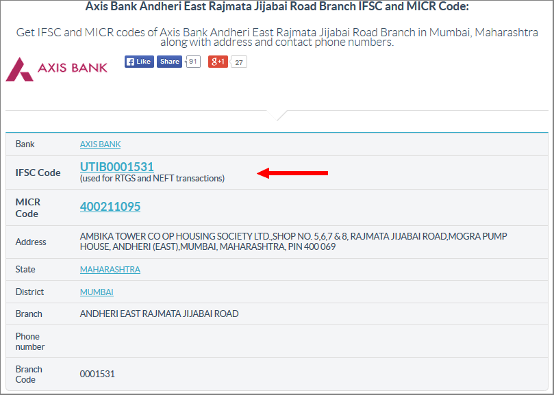 Get Axis Bank Ifsc Code For Neft Rtgs And Ecs Transactions Coding Axis Bank Finance