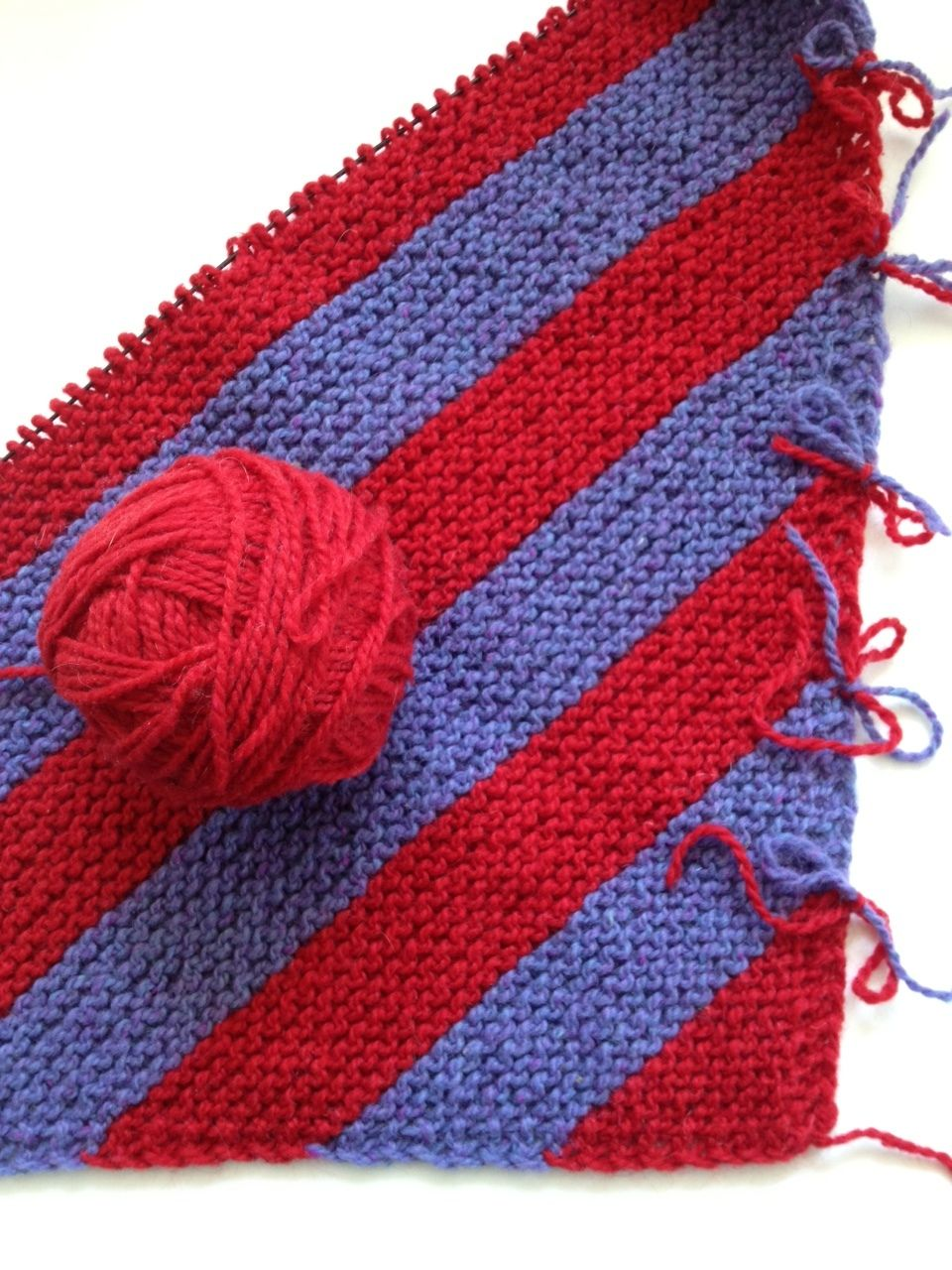 Diagonal Knitting How-To | Knitting patterns, Stitch and Tutorials