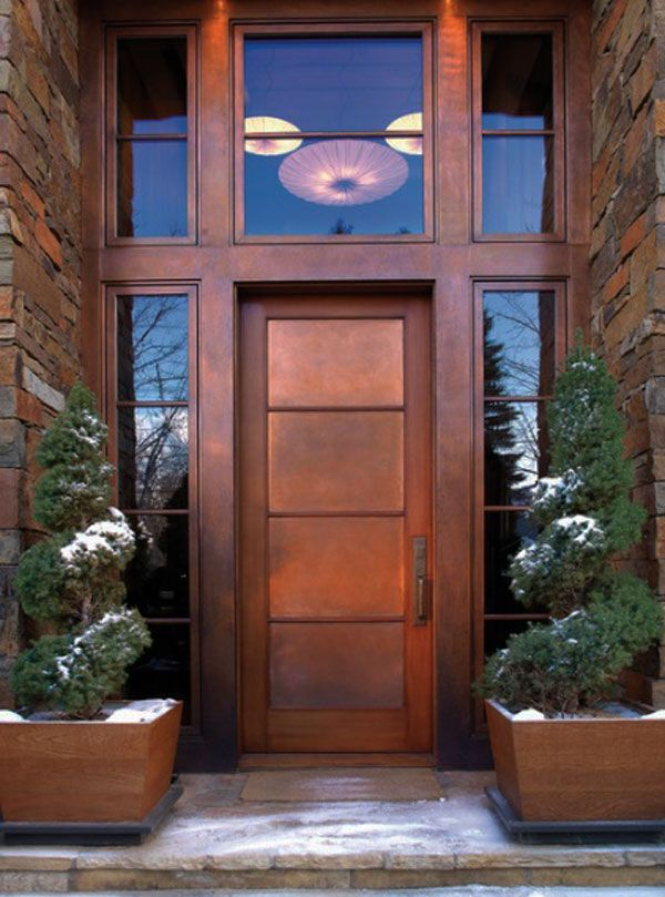 Contemporary front doors designs modern front doors 30 for Residential main door design