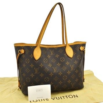 22afe40ad6d3 Louis Vuitton Neverfull Pm Brown Tote Bag. Get one of the hottest styles of  the