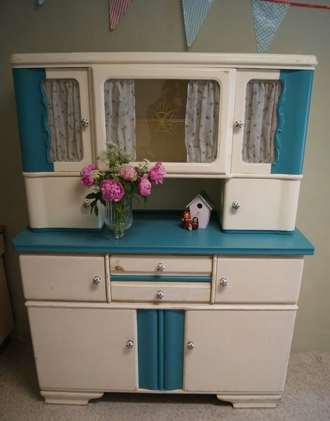 creamweisser shabby k chenbuffet buffetschrank von garagenm bel by i a auf. Black Bedroom Furniture Sets. Home Design Ideas