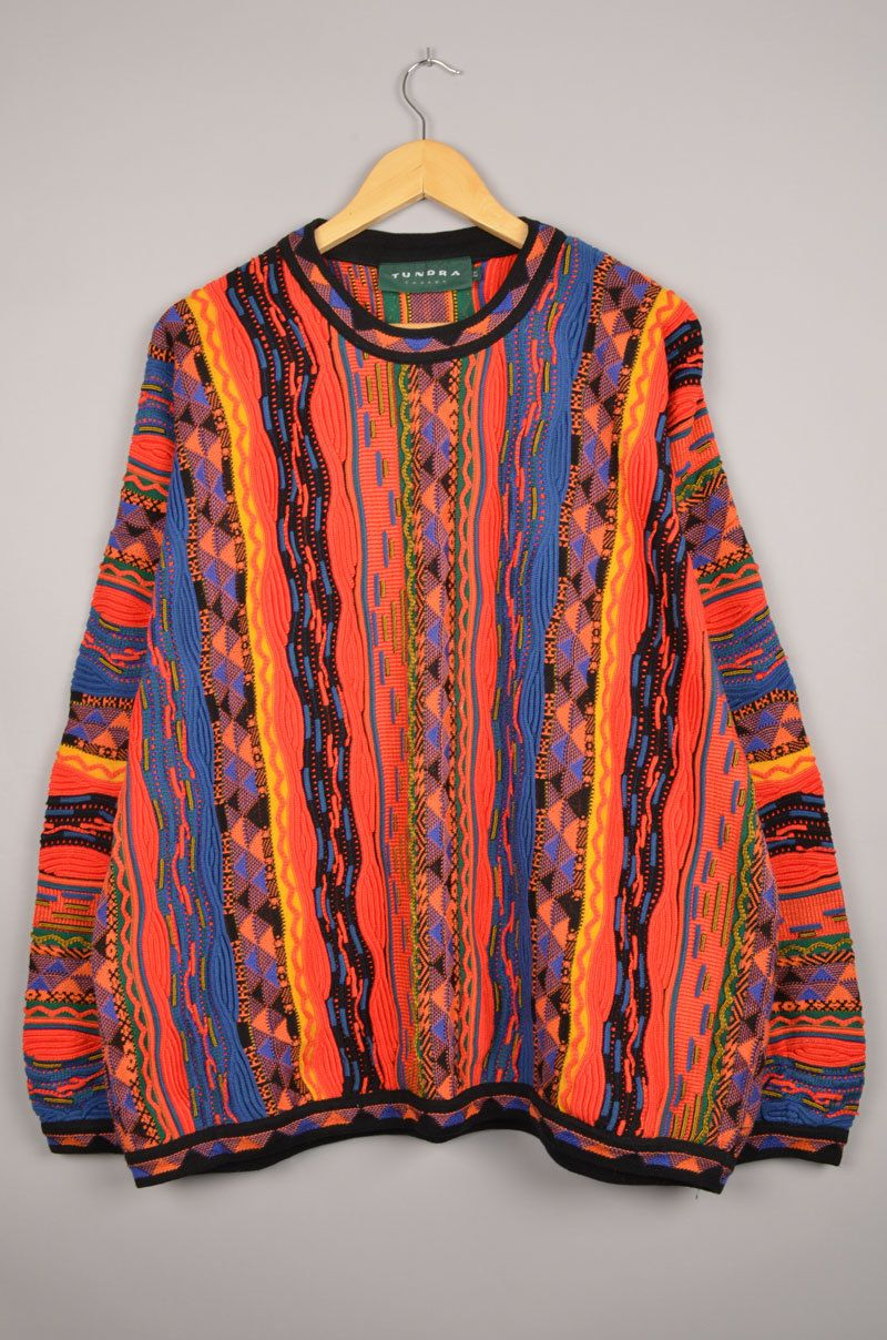Tundra Canada Coogi Carlo Colucci Sweater Crewneck Sweatshirt Deadstock Szxxl Cuggi Door Getfittedvin Vintage Clothing Online Vintage Outfits Sweaters