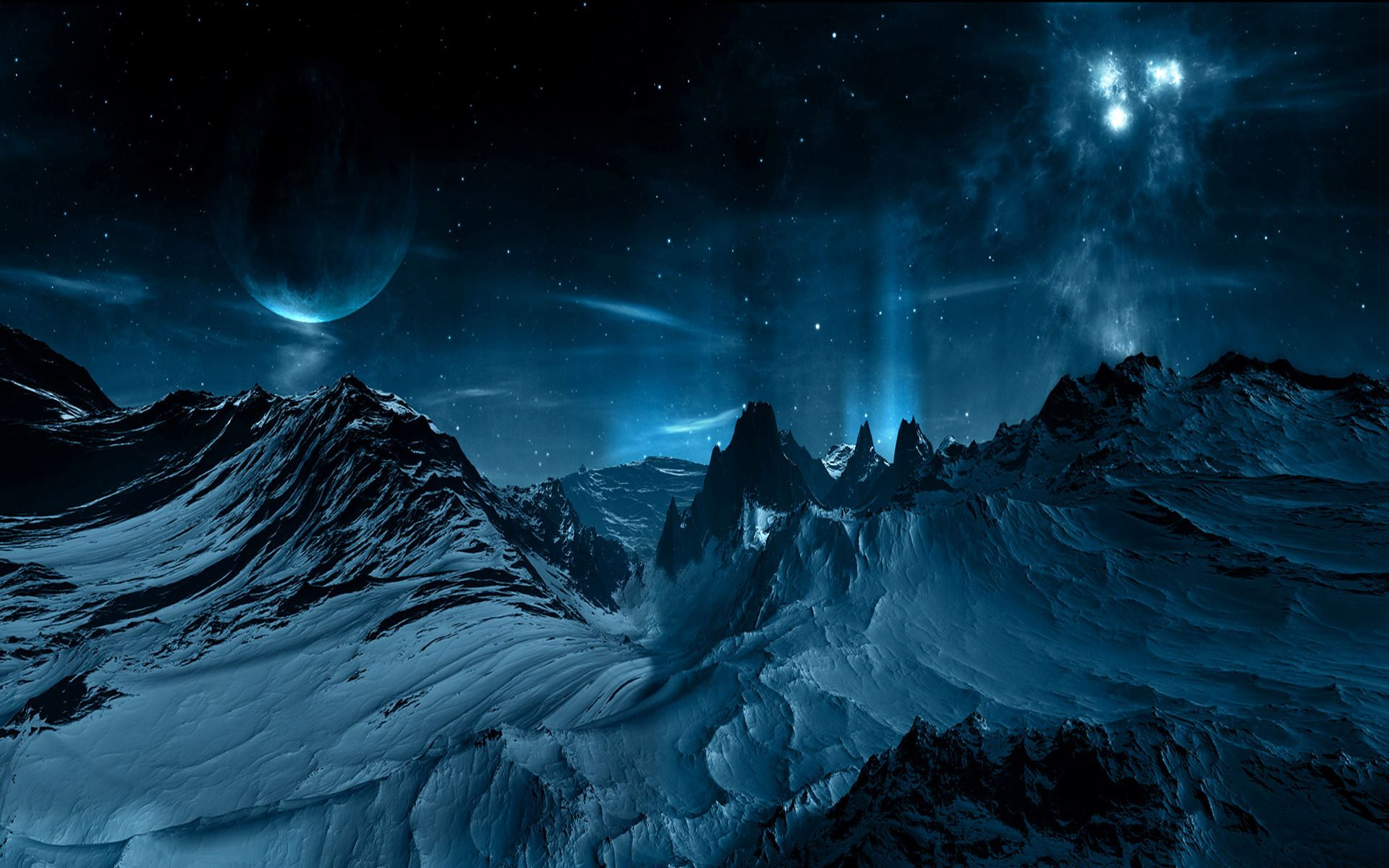Alien Planet Surface Surface Of The Planet Wallpapers And