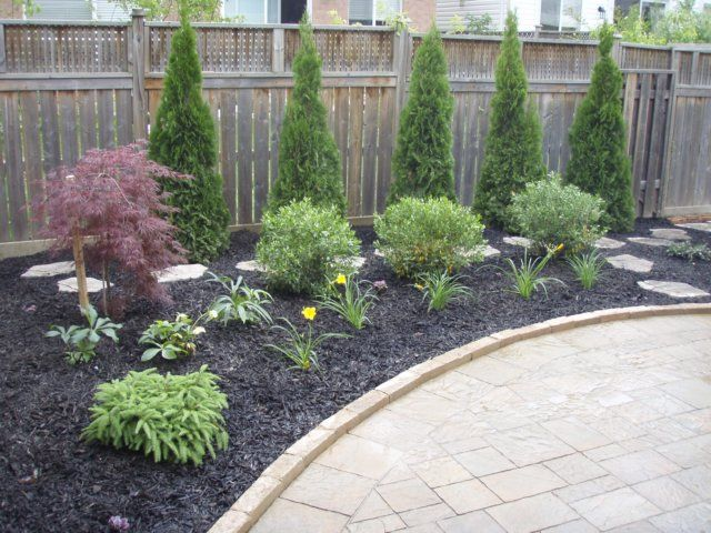 Low maintenance front yard landscaping photo album for Backyard low maintenance landscaping ideas