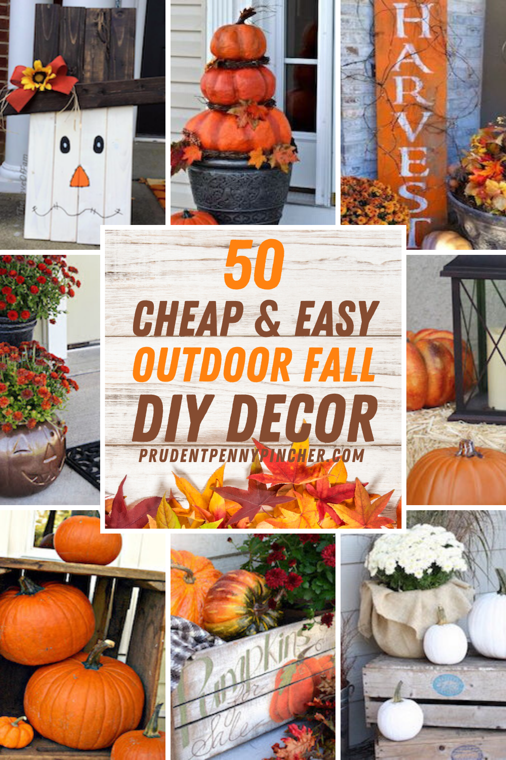 50 Cheap And Easy Diy Outdoor Fall Decorations In 2020 Fall Outdoor Decor Fall Decor Diy Fall Decorations Porch