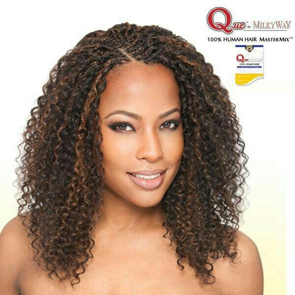 Micro Curly Braids   Hair /Braids styles......   Pinterest ...