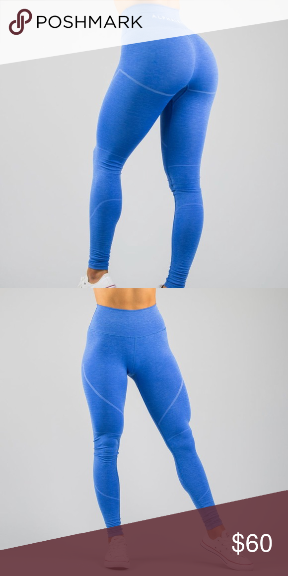 ae516818aba64 Alphalete revival leggings palace blue XS Incredibly comfortable and soft  (sans silicone wash) High