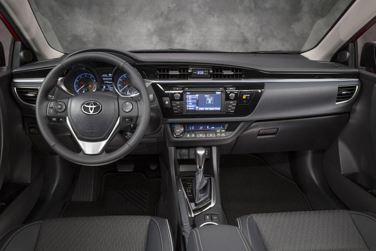 2014 Toyota Corolla interior Toyota corolla, Toyota