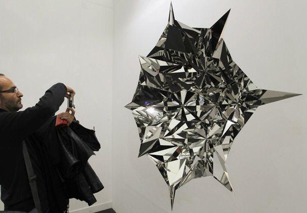 The Fiac international contemporary art fair at the Grand Palais in Paris.