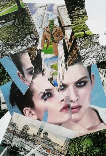 Collage by Kat Collage Art