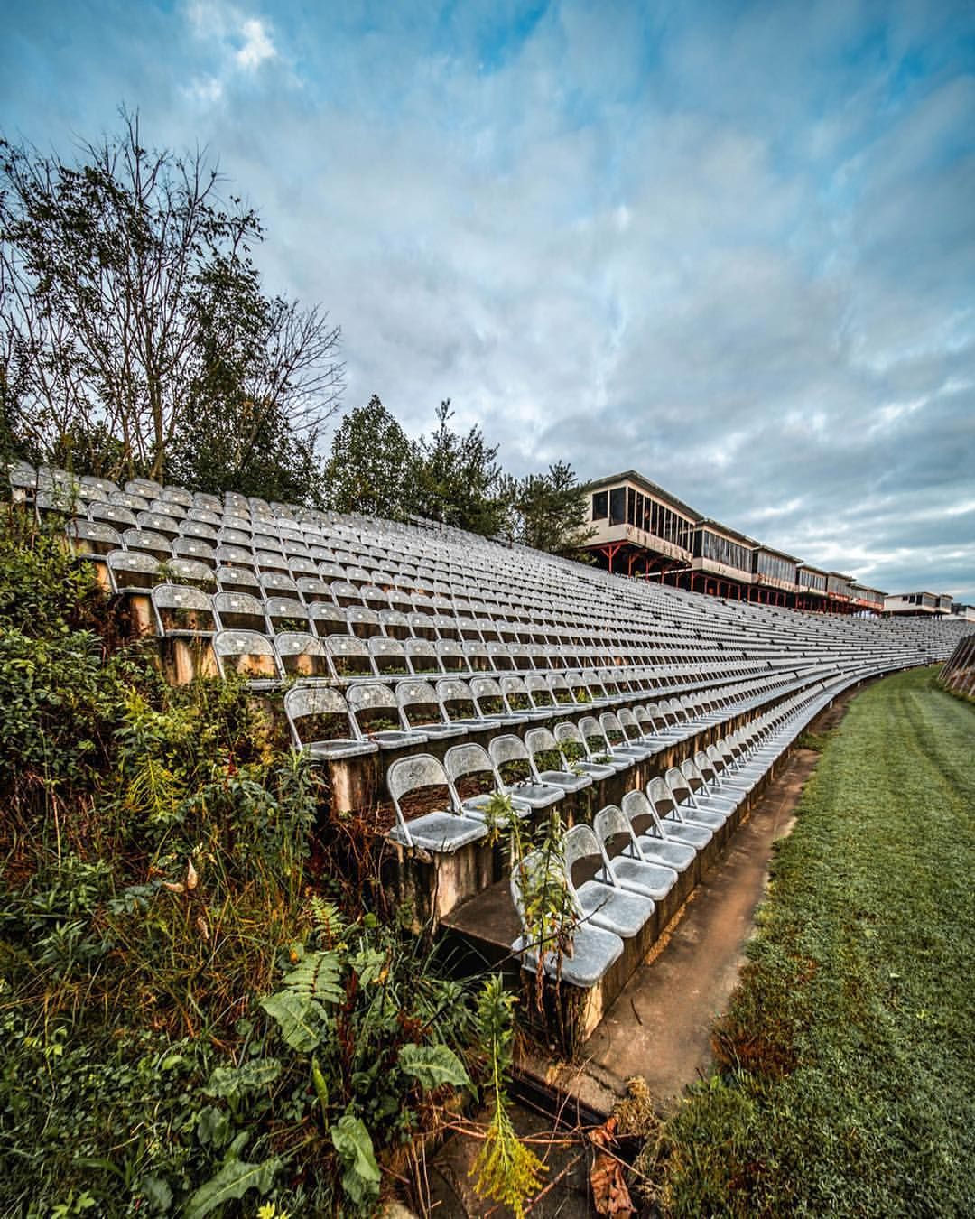 Remains Of An Old NASCAR Track By Alex Mckenzie #abandoned