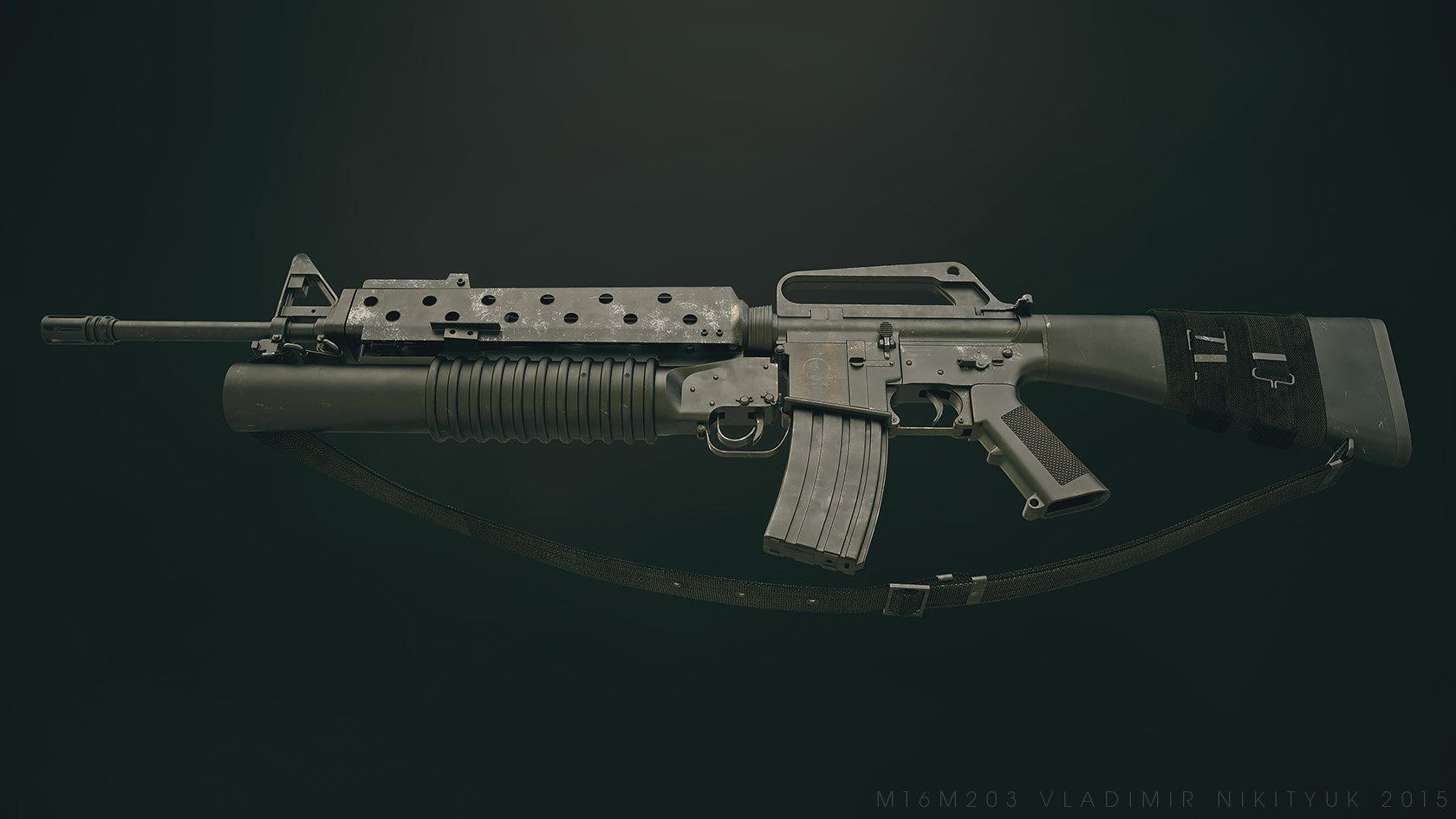 the m16 rifle officially designated rifle caliber 5 56 mm m16 is