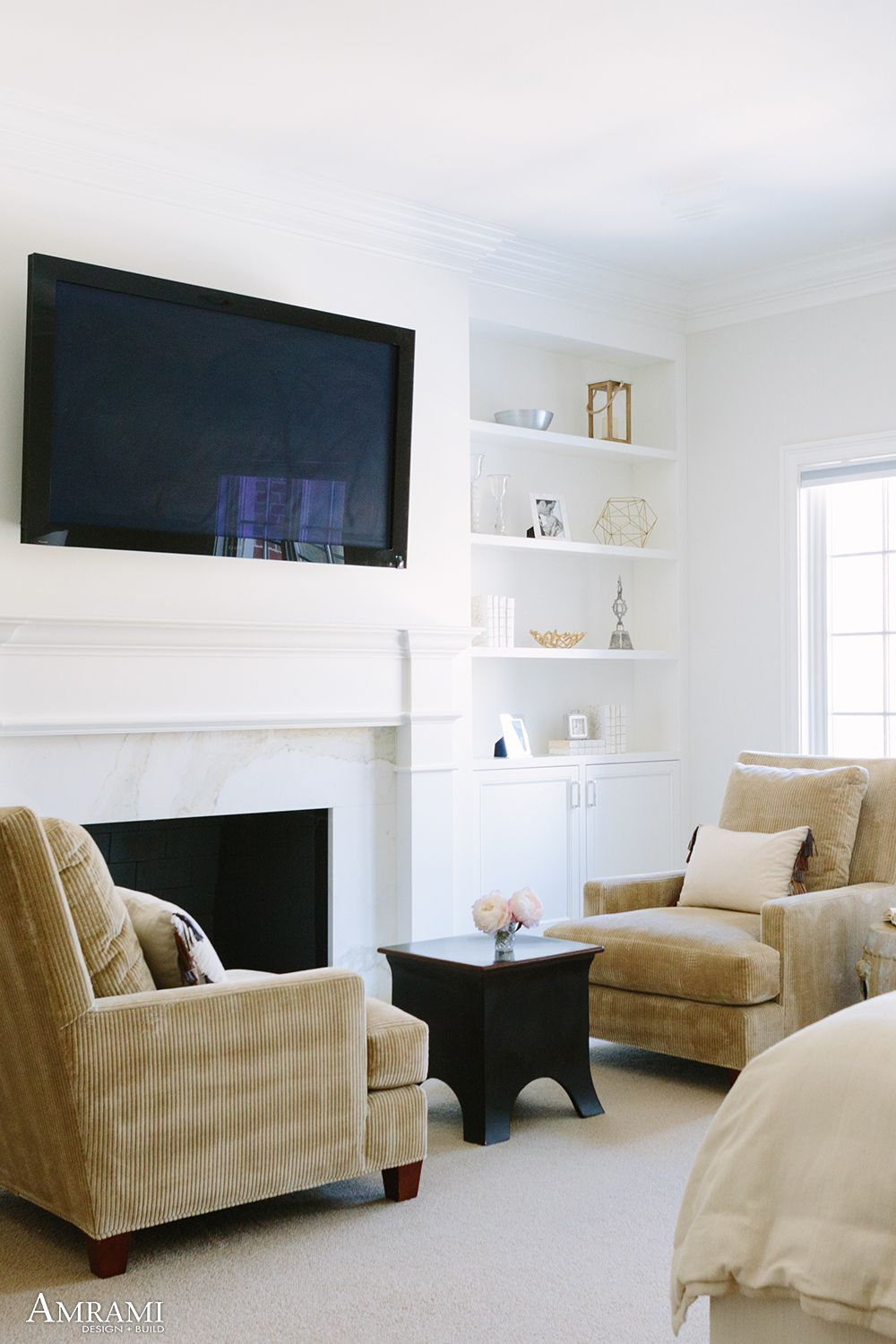 About Us in 2020 (With images) Tv over fireplace
